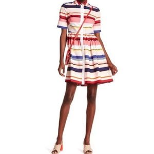 Kate spade spice things up shirt dress striped